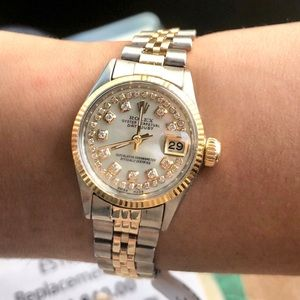 SOLD!!! Rolex Ladies Datejust  Two-tone MOP Dial